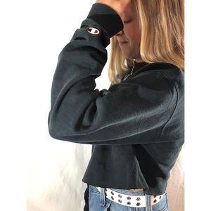 Authentic Champion Cropped Sweatshirt